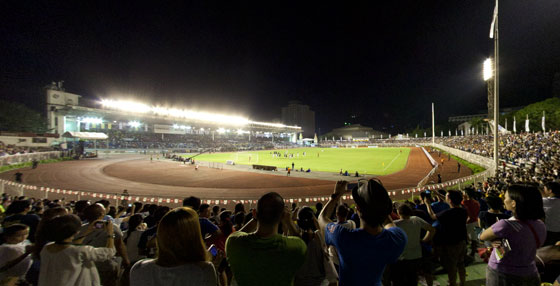 Philippine Azkals vs. L.A. Galaxy at the Rizal Memorial Stadium teaser image