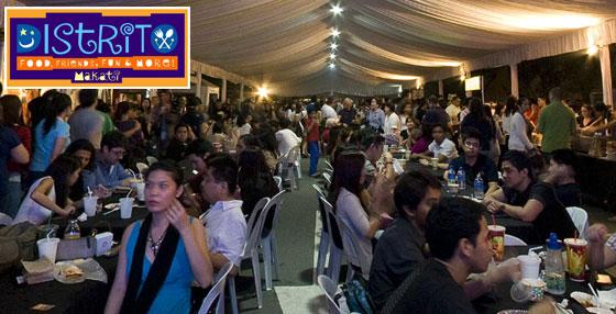 Distrito Makati – A night market in Makati teaser image