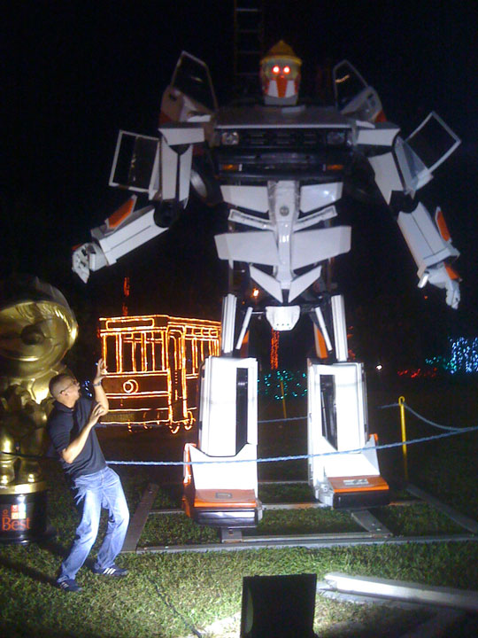 Meralco Liwanag Park 2011 Giant Robot