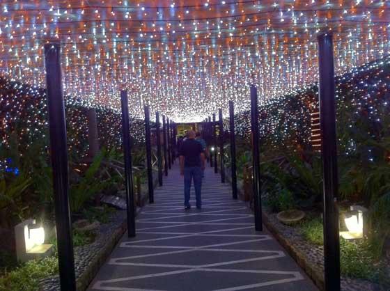 Meralco Liwanag Park Pedestrian Entrance