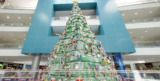 Lego Christmas Tree at SM The Block teaser image
