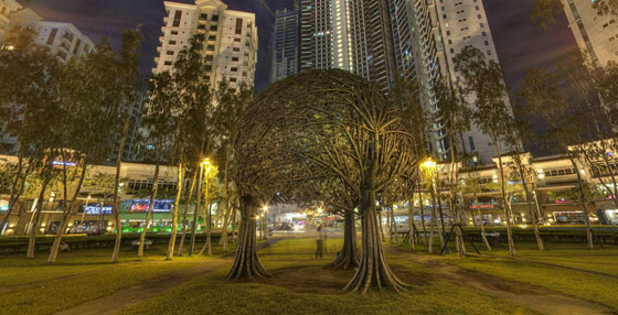 &#8220;The Trees&#8221; sculpture in Burgos Circle teaser image